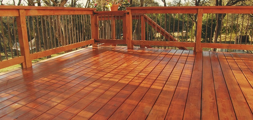 Deck Staining and Sealing - ProTEK Painters - Newton MA