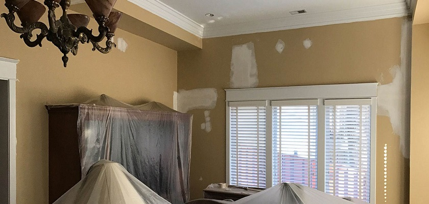 Drywall Repair and Installation - Painting Contractor Services - ProTEK Painters Newton MA