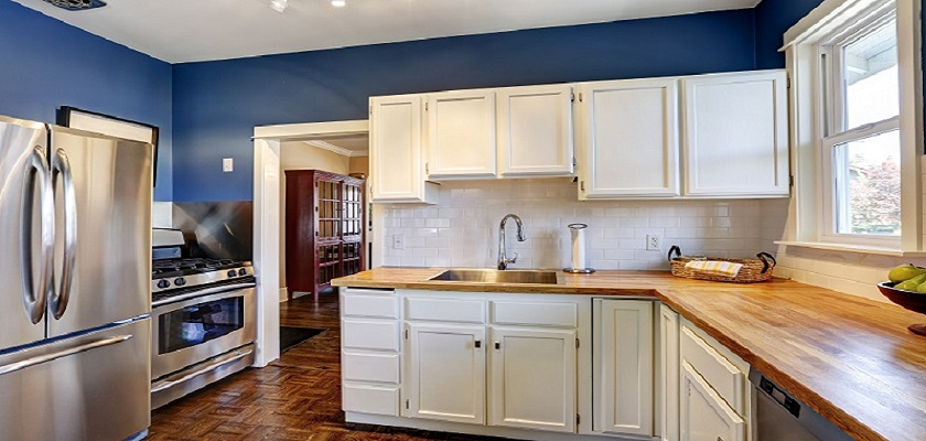 Kitchen Cabinet Painting And Refinishing Protek Painters Newton Ma