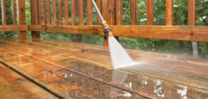 Pressure Washing - Deck Staining and Sealing - ProTEK Painters - Newton, MA