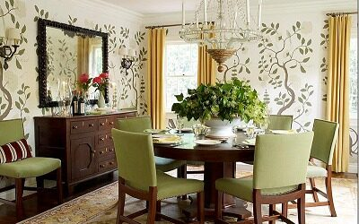 Wallpaper Removal in Dining Room - ProTEK Painters Newton MA
