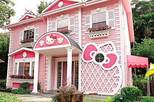 Exterior Painting Techniques - ProTek Painters - Newton, MA - The Anime Hello Kitty house