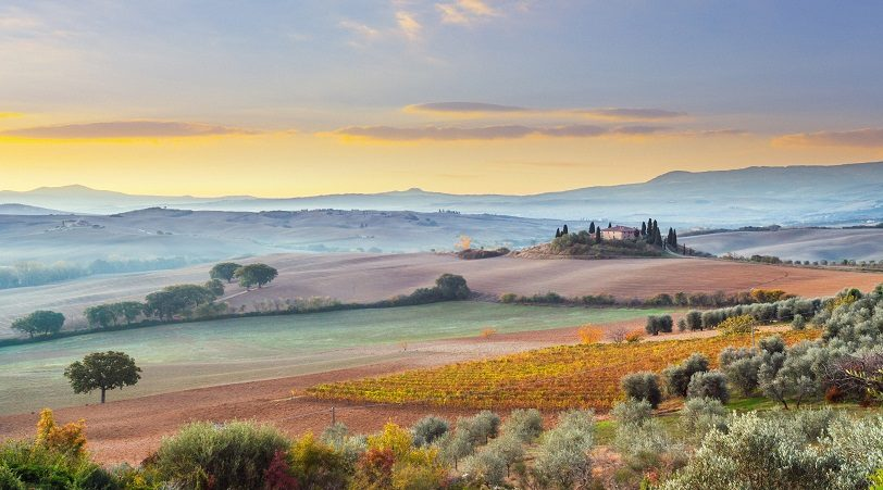 Tuscan Paint Colors Borrowed From Nature Protek Painters Of Newton