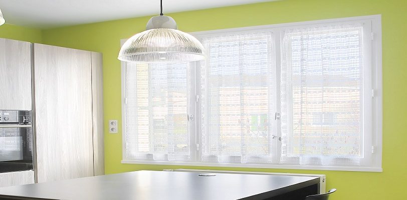 Lime Green and Gray Kitchen - Kitchen Cabinet Painting - ProTEK Painters Newton, MA