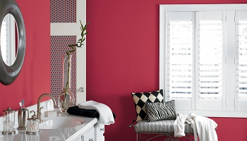 Red Bathroom Painting Ideas - ProTEK Painters - Newton MA - 350x200