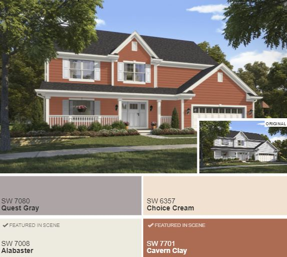 Exterior Home Colors 2019: 2019 Exterior Paint Colors Of The Year