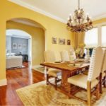 Interior Painting - ProTEK Painters - Newton, MA - Yellow Dining Room White Trim