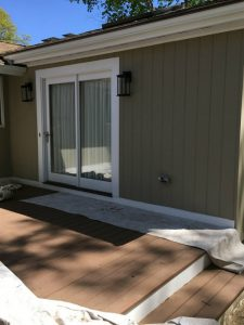 AFTER - Exterior Painter - ProTEK Painters - Needham, MA - tan with white trim