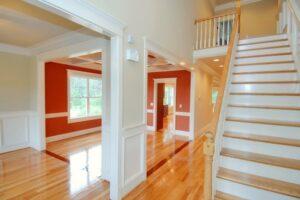 Interior Painting - Newton, MA - Living Room Dining Room - ProTEK Painters