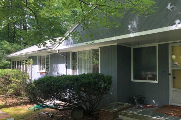 AFTER – Exterior House Painters – Gray Repaint – ProTEK Painters – Newton MA 600×400