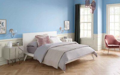 Blue Bedroom Paint Colors - Celestial - Newton MA - ProTEK Painters