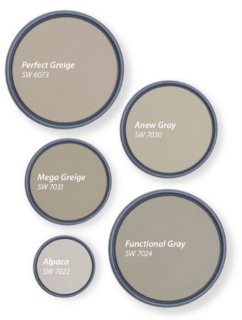 Home Office Painting-Sherwin-Williams top five shades of greigeHome Office Painting-Greige is a great neutral choice-Interior Painting-ProTEK Painters